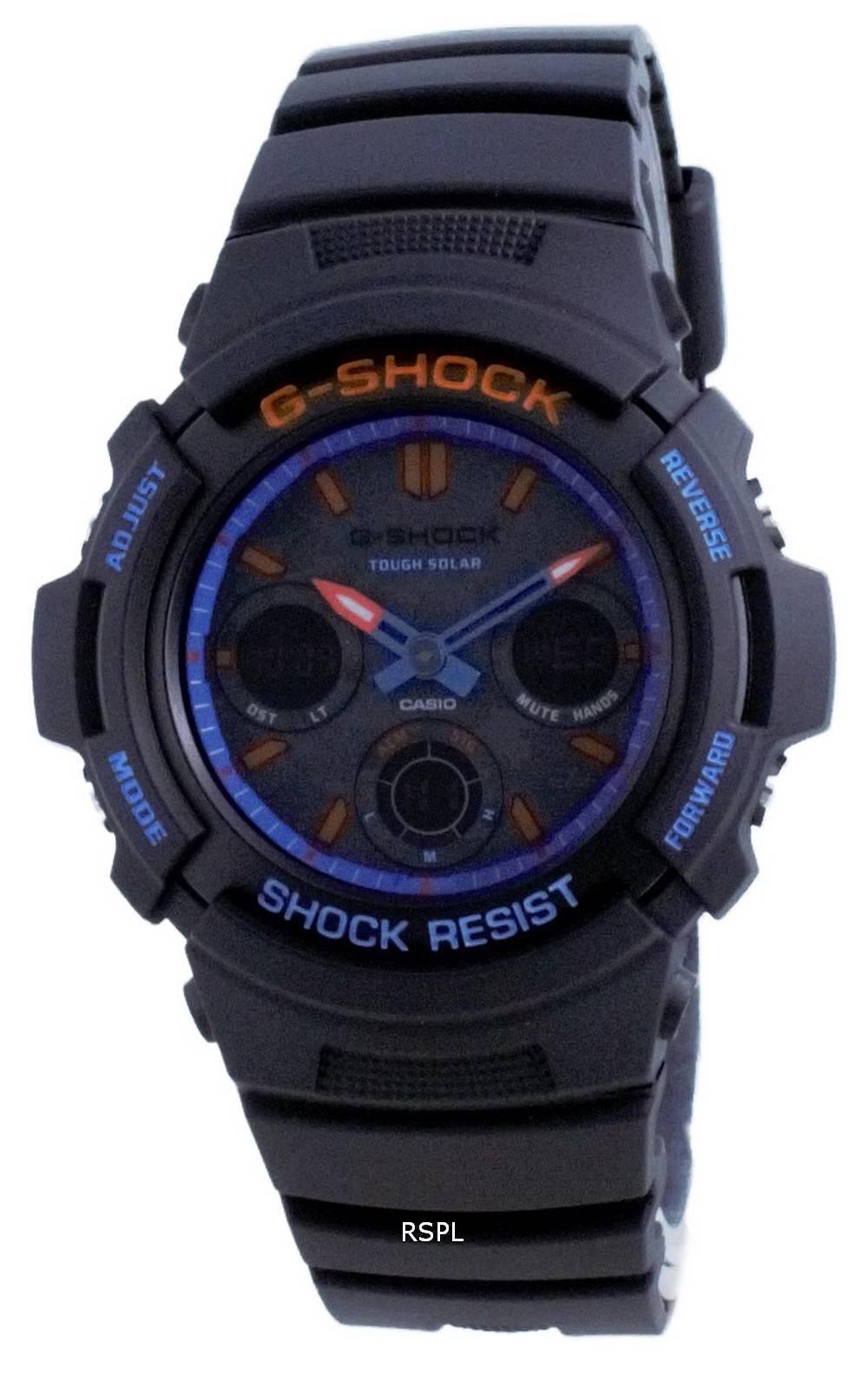 Casio G-Shock City analoginen digitaalinen sukeltajan kova aurinko AWR-M100SCT-1A AWRM100SCT-1 200M miesten kello