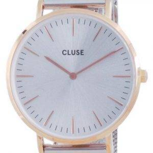 Cluse La Boheme Rose Gold Tone ruostumaton teräs kvartsi CW0101201006 naisten kello