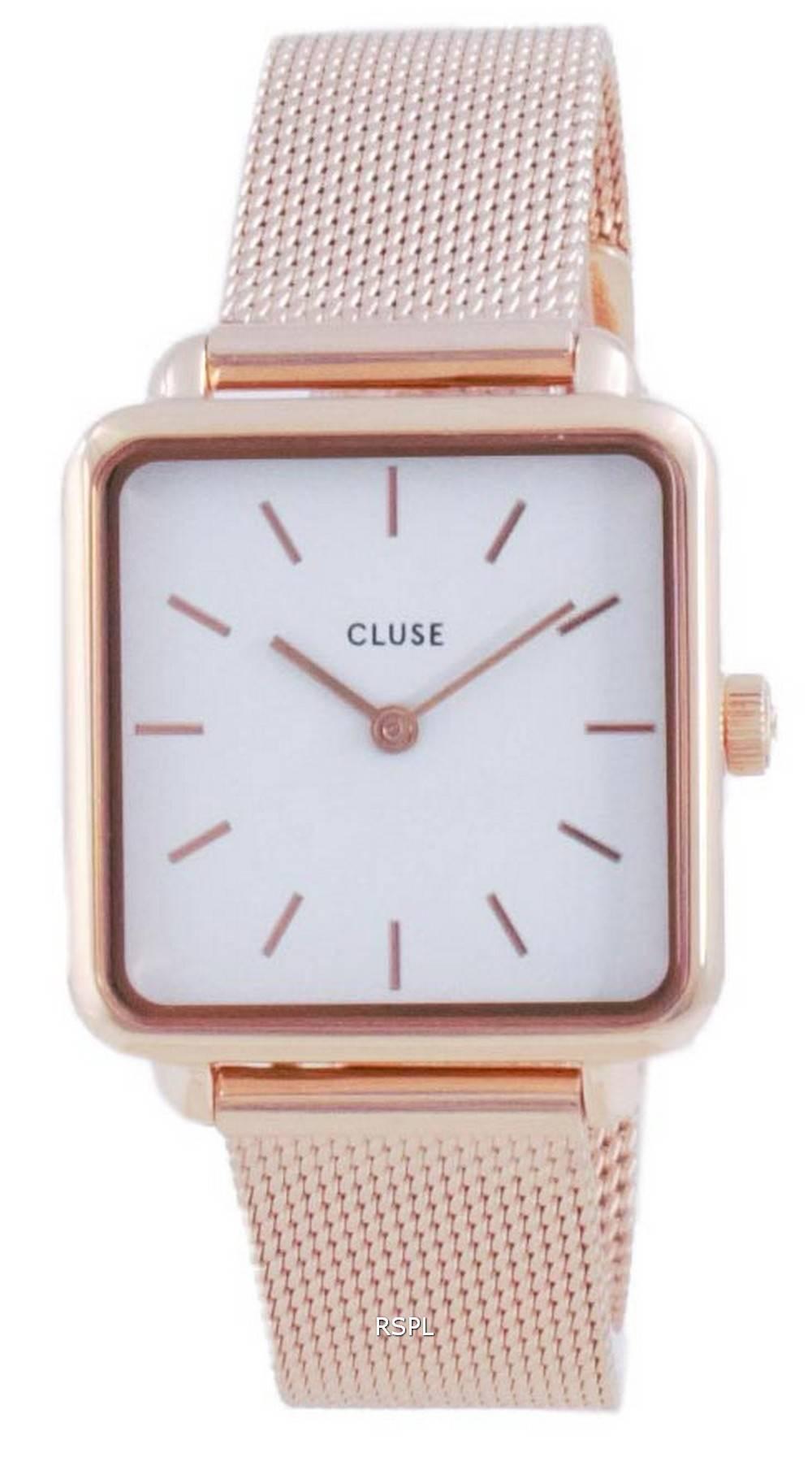 Cluse La Tetragone White Dial Quartz CW0101207001 naisten kello