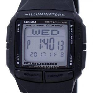 Casio valaisin monikielinen tietokanta kaksoisaika digitaalinen DB-36-1AV Miesten Watch