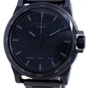 Diesel D-48 musta kellotaulu ruostumattomasta teräksestä valmistettu kvartsi DZ1934 miesten kello