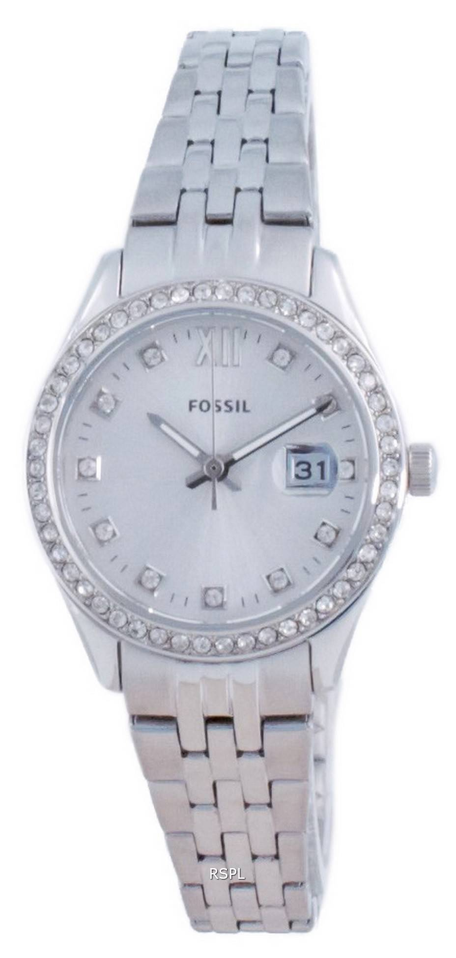 Fossil Scarlette Micro Diamond Accents Quartz ES5039 naisten kello