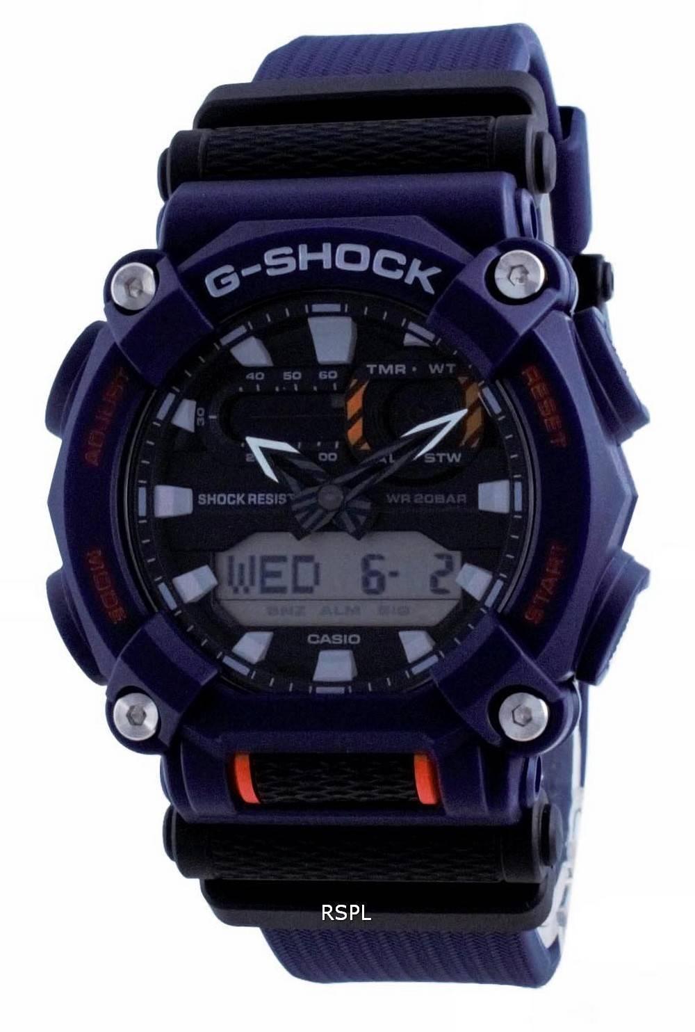 Casio G-Shock maailmanajan analoginen digitaalinen GA-900-2A GA900-2 200M miesten kello