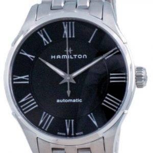 Hamilton Jazzmaster automaattinen musta kellotaulu H42535130 miesten kello