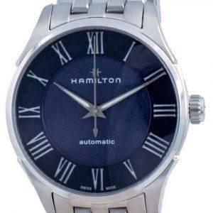 Hamilton Jazzmaster automaattinen sininen soittaa H42535140 miesten kello