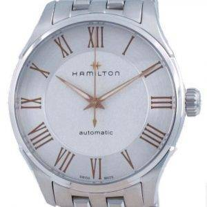 Hamilton Jazzmaster automaattinen hopeakello H42535150 miesten kello