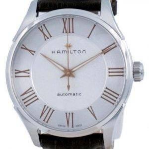 Hamilton Jazzmaster automaattinen valkoinen soittaa H42535550 miesten kello