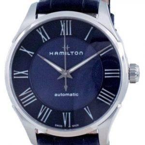 Hamilton Jazzmaster automaattinen sininen soittaa H42535640 miesten kello