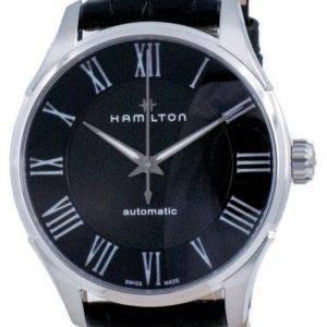 Hamilton Jazzmaster automaattinen musta kellotaulu H42535730 miesten kello