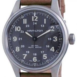 Hamilton Khaki Field Automatic Titanium Black Dial H70545550 100M miesten kello