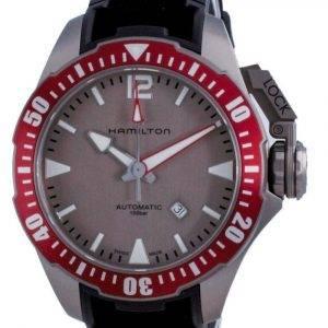 Hamilton Khaki Navy Frogman Titanium Automatic H77805380 100M miesten kello