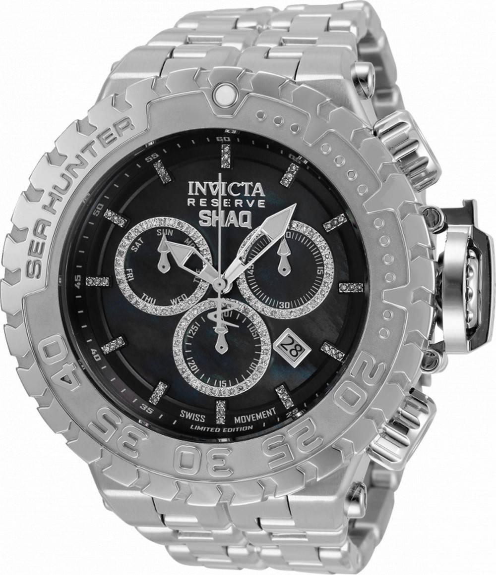Invicta Shaq Diamond korostaa sukeltajan kvartsia 34612 500M miesten kelloa