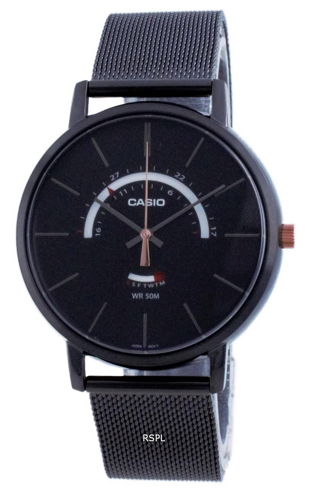 Casio Classic analoginen kvartsi MTP-B105MB-1A MTPB105MB-1 miesten kello