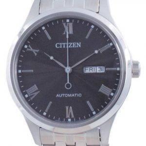 Citizen mekaaninen musta kellotaulu ruostumatonta terästä NH7501-85H miesten kello