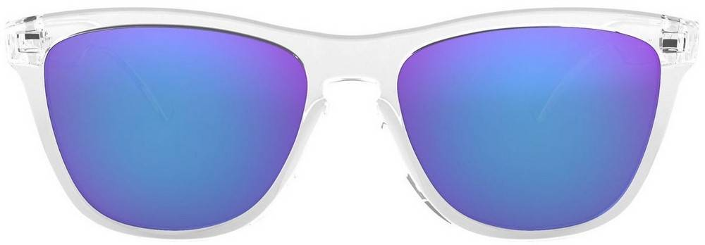Oakley Frogskins Rim kiiltävä kirkas muovi OO9013-24-305-55 unisex-aurinkolasit