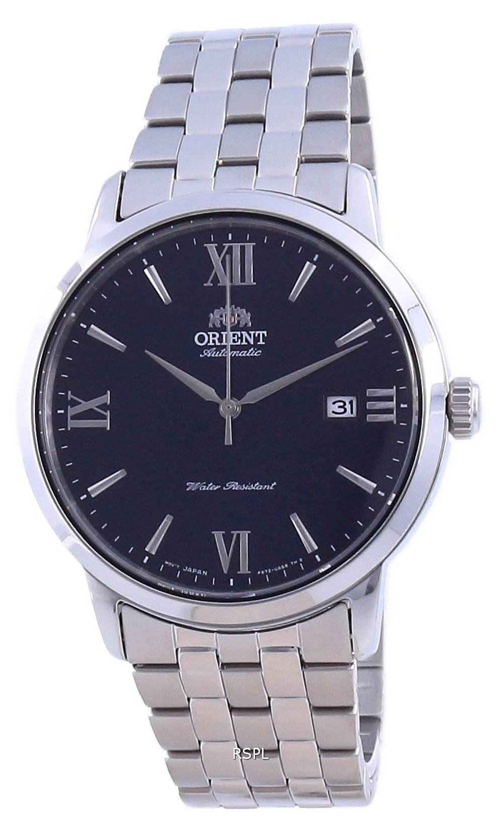 Orient nykyaikainen sininen soittaa ruostumatonta terästä automaattinen RA-AC0F09L10B miesten kello
