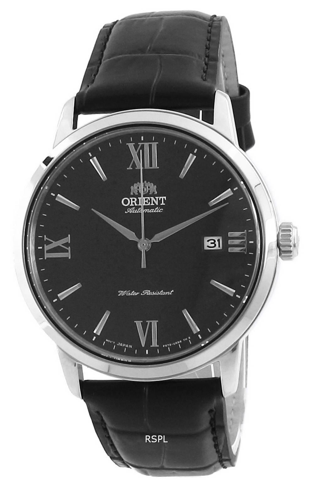 Orient nykyaikainen sininen soittaa nahka automaattinen RA-AC0F11L10B miesten kello