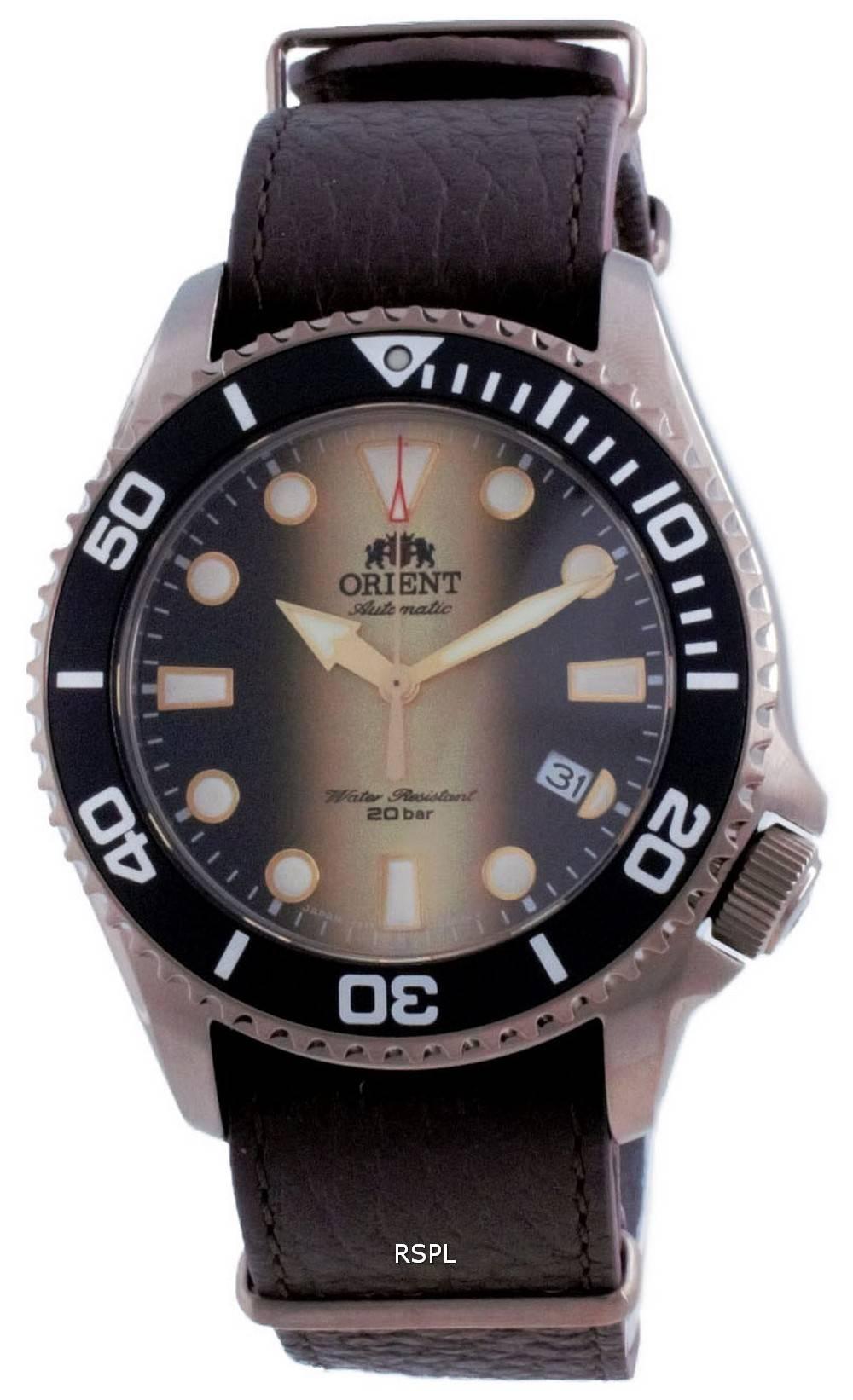 Orient Triton 70th Anniversary Limited Edition automaattisen sukeltajan RA-AC0K05G00B 200M miesten kello