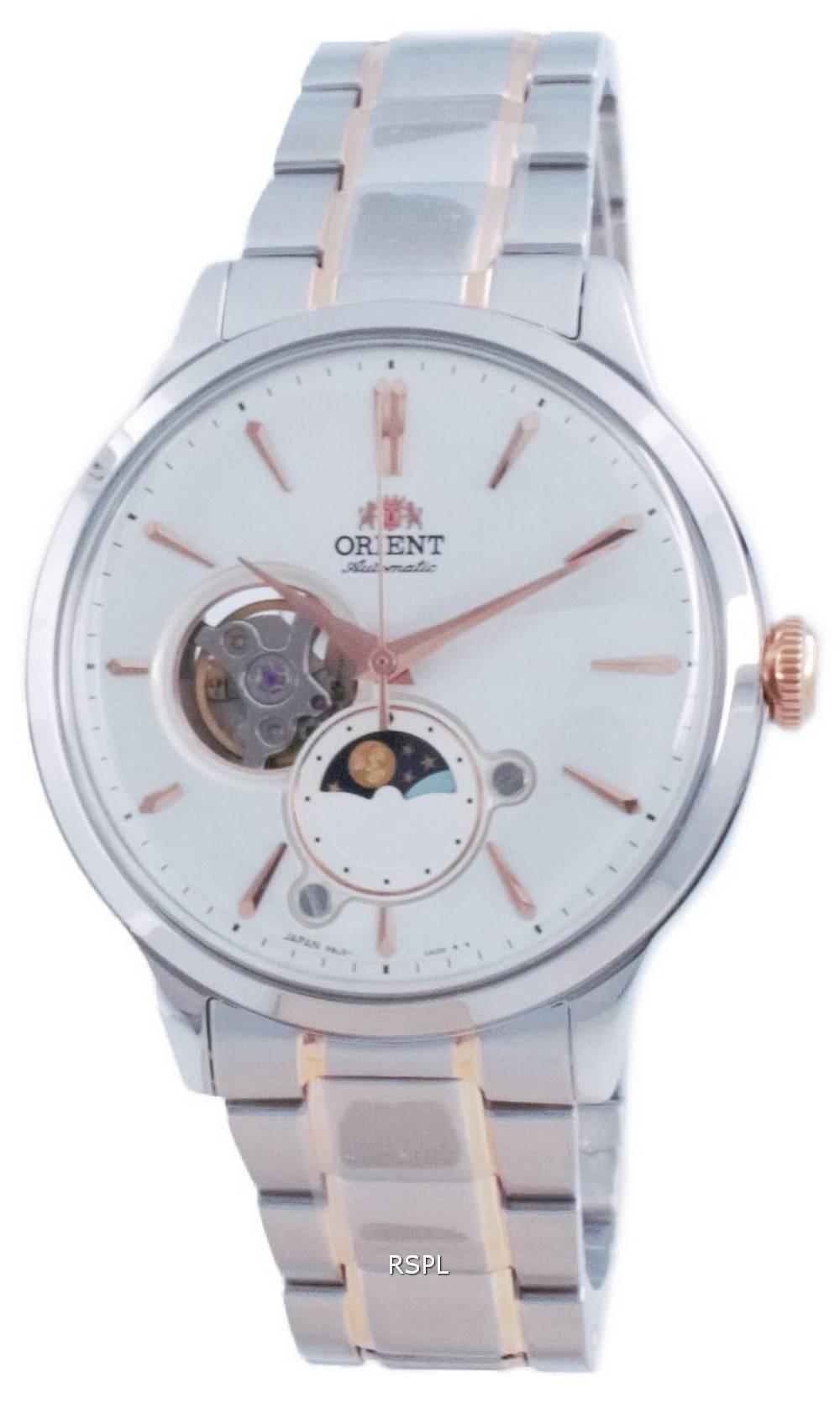 Orient Classic Sun and Moon Open Heart Automaattinen RA-AS0101S00C miesten kello