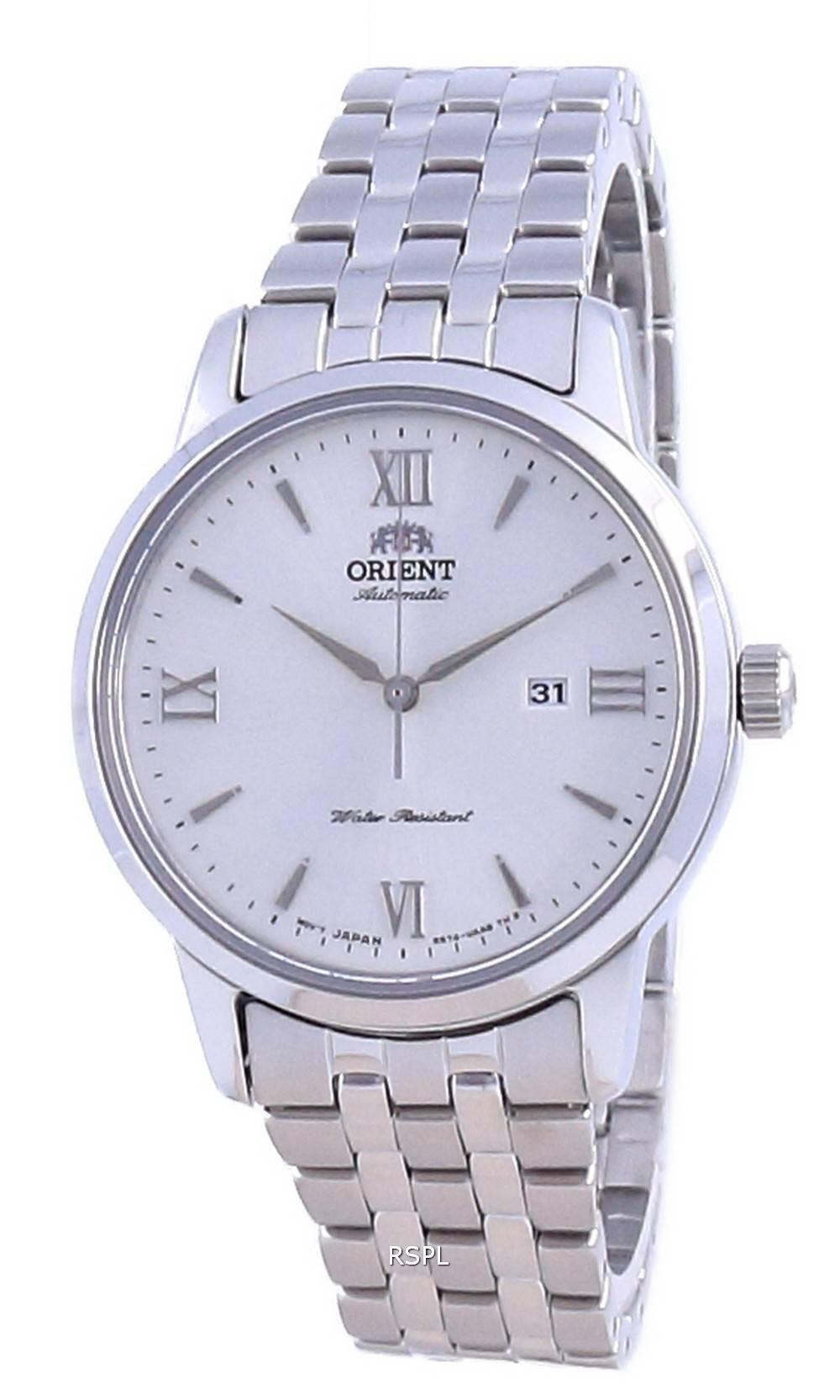 Orient Contemporary valkoinen soittaa ruostumatonta terästä automaattinen RA-NR2003S10B naisten kello