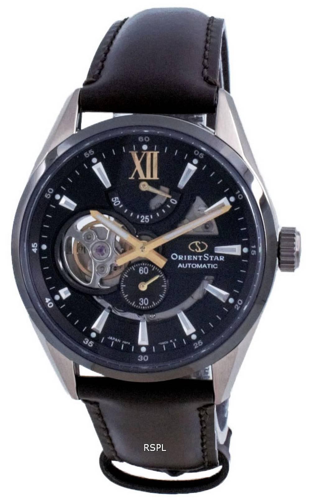 Orient Star Contemporary avoin sydän automaattinen RE-AV0115B00B 100M miesten kello