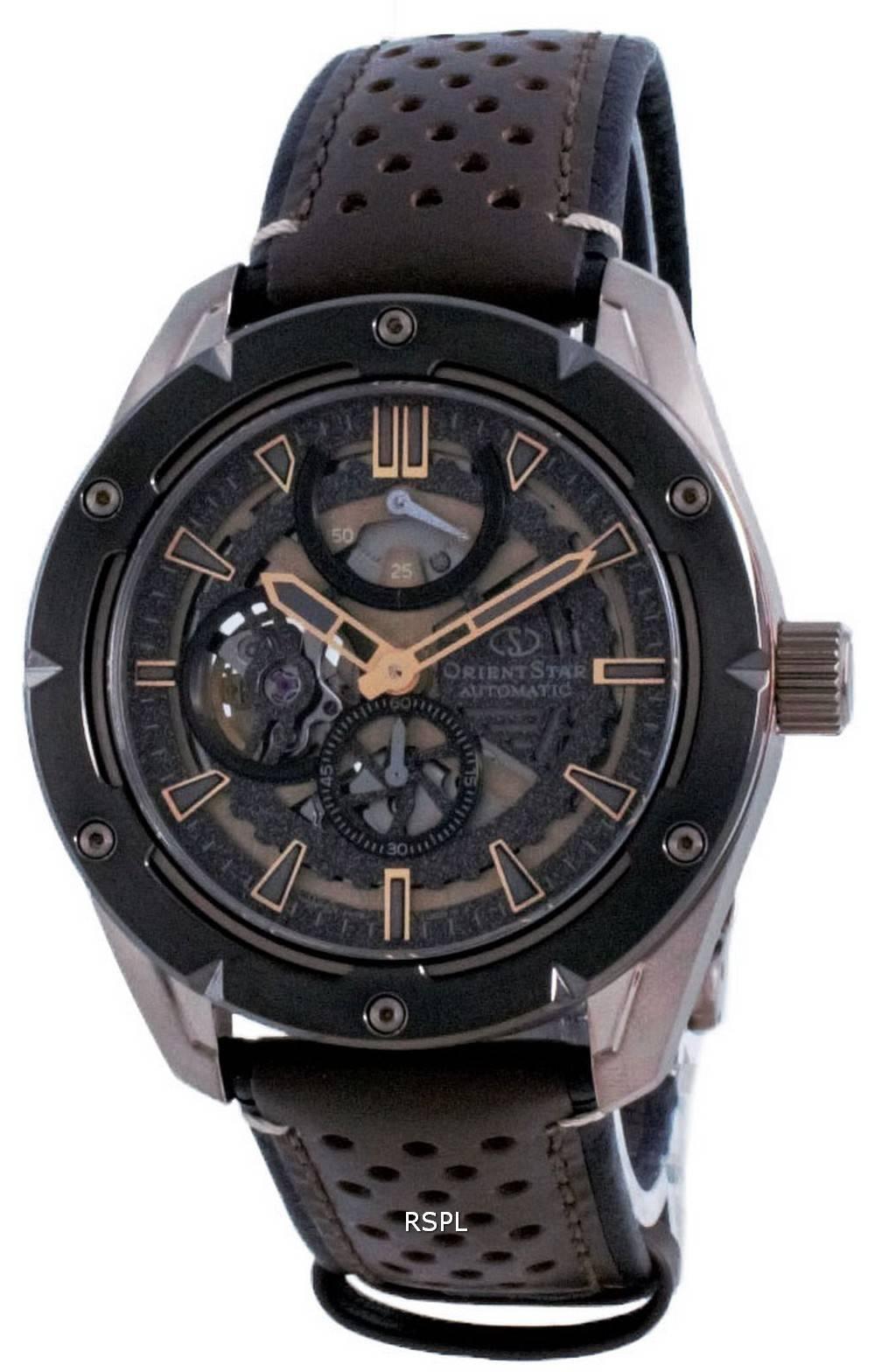 Orient Star Avant Garde -luuranko automaattinen RE-AV0A04B00B 100M miesten kello