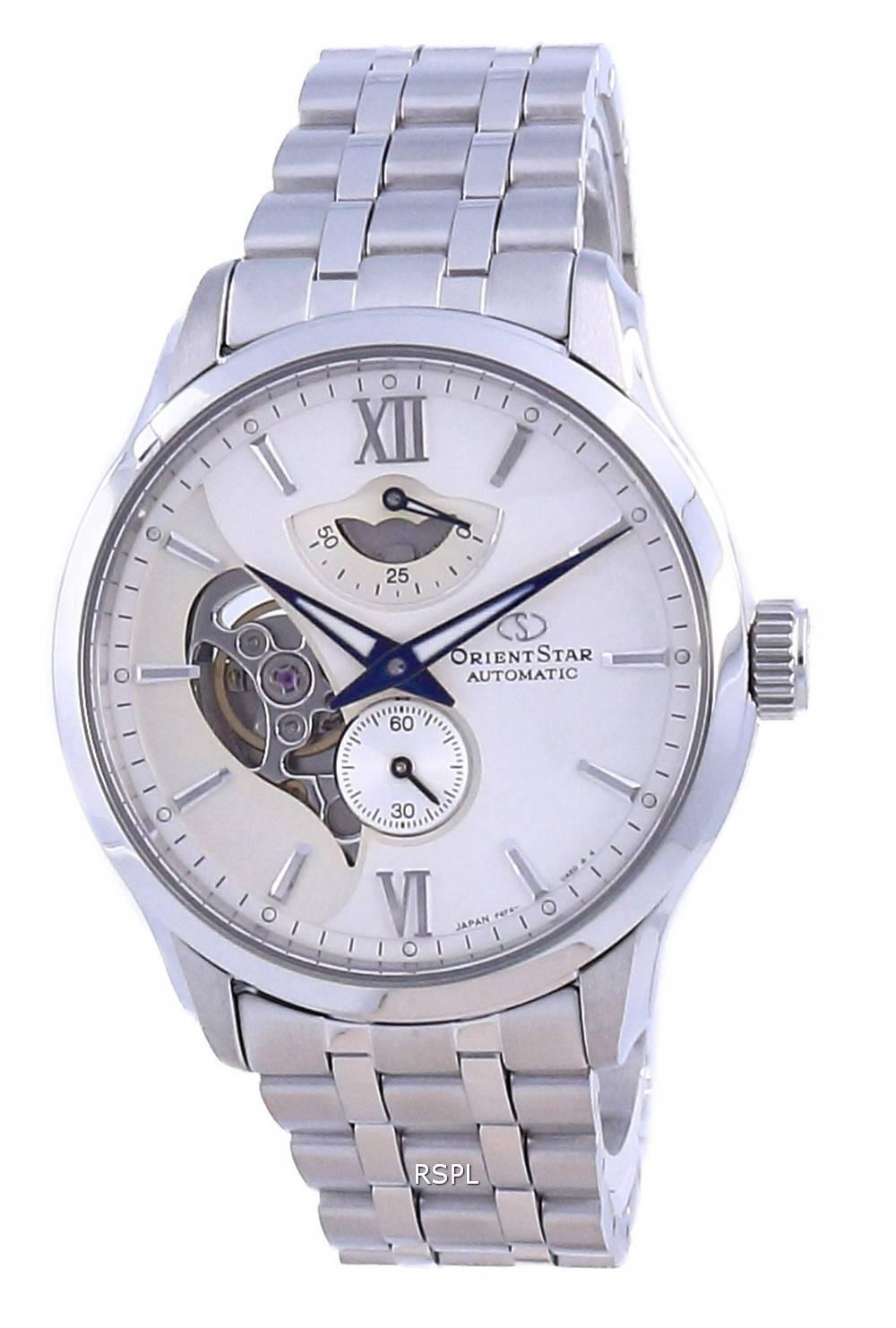 Orient Star Contemporary avoin sydän automaattinen RE-AV0B01S00B 100M naisten kello