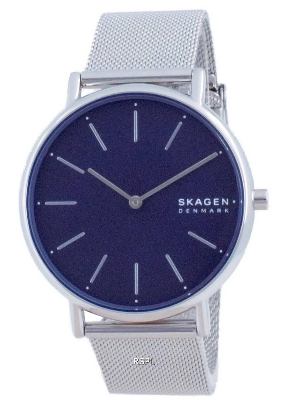 Skagen Signatur ruostumattomasta teräksestä valmistettu kvartsi SKW2922 naisten kello
