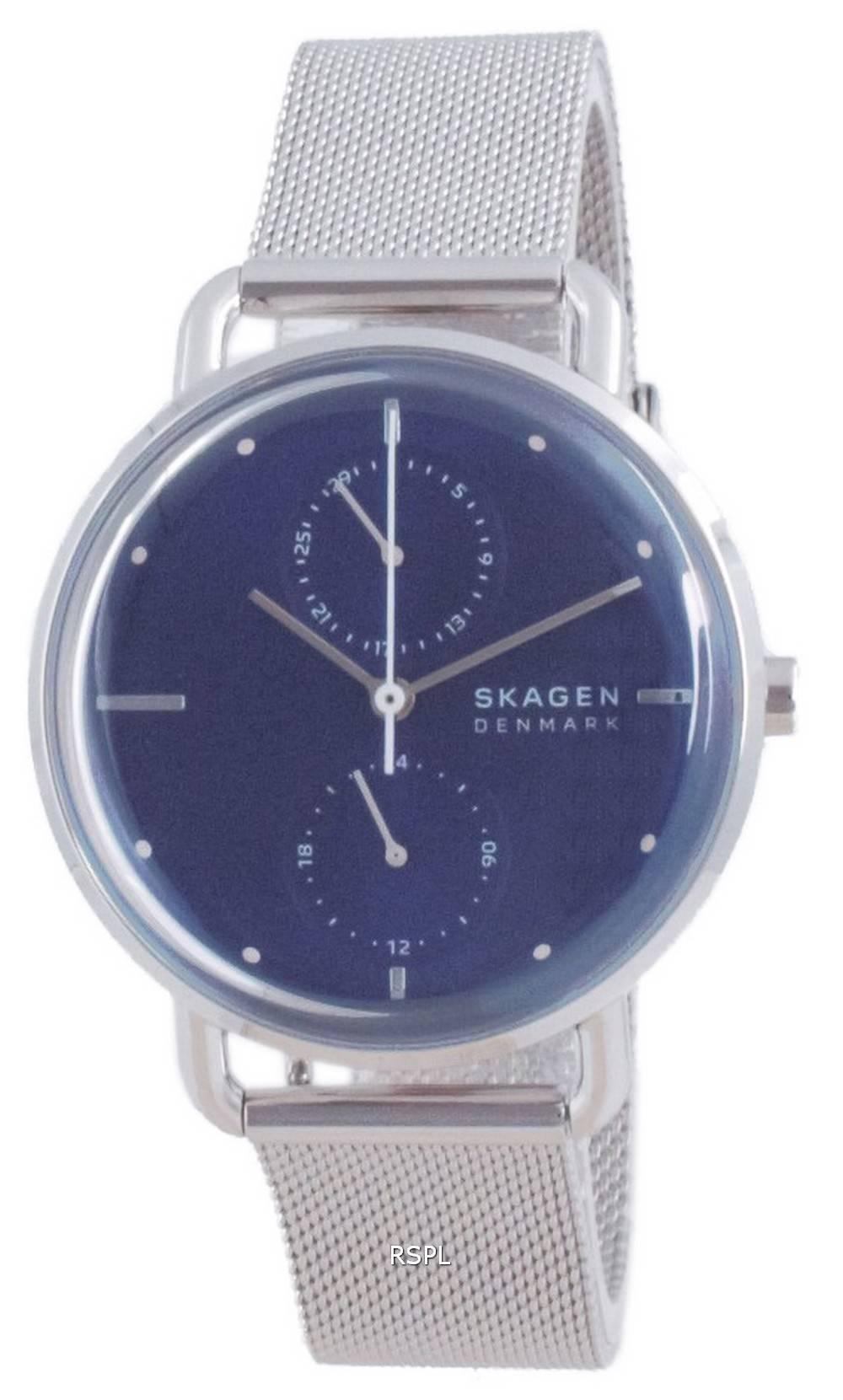 Skagen Horizont ruostumattomasta teräksestä valmistettu kvartsi SKW2947 naisten kello
