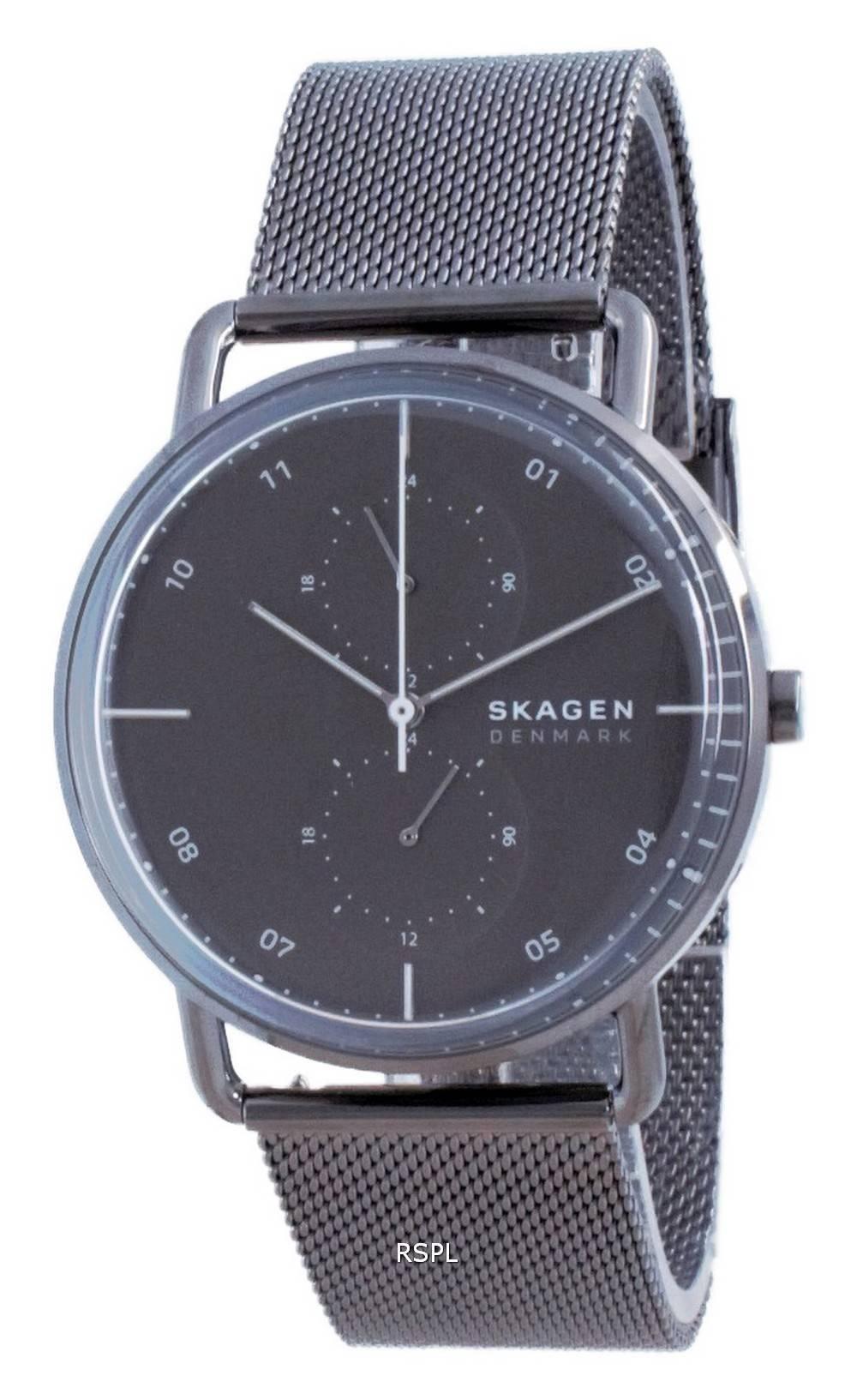 Skagen Horizont ruostumattomasta teräksestä valmistettu kvartsi SKW6725 miesten kello