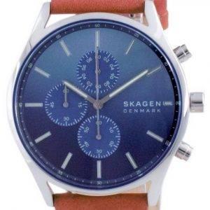 Skagen Holst ruostumattomasta teräksestä valmistettu ajanoton kvartsi SKW6732 miesten kello