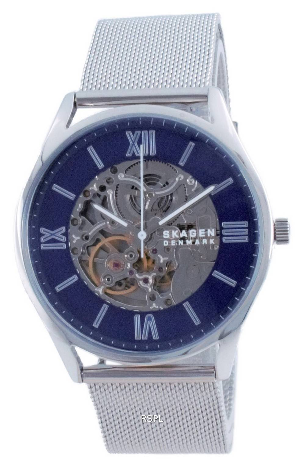 Skagen Holst luuranko ruostumaton teräs automaattinen SKW6733 miesten kello