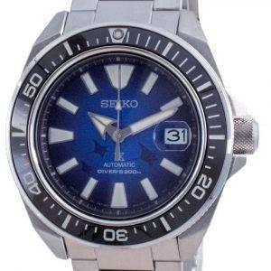 Seiko Prospex Save The Ocean Manta Ray Edition automaattinen sukeltajan SRPE33 SRPE33J1 SRPE33J 200M miesten kello