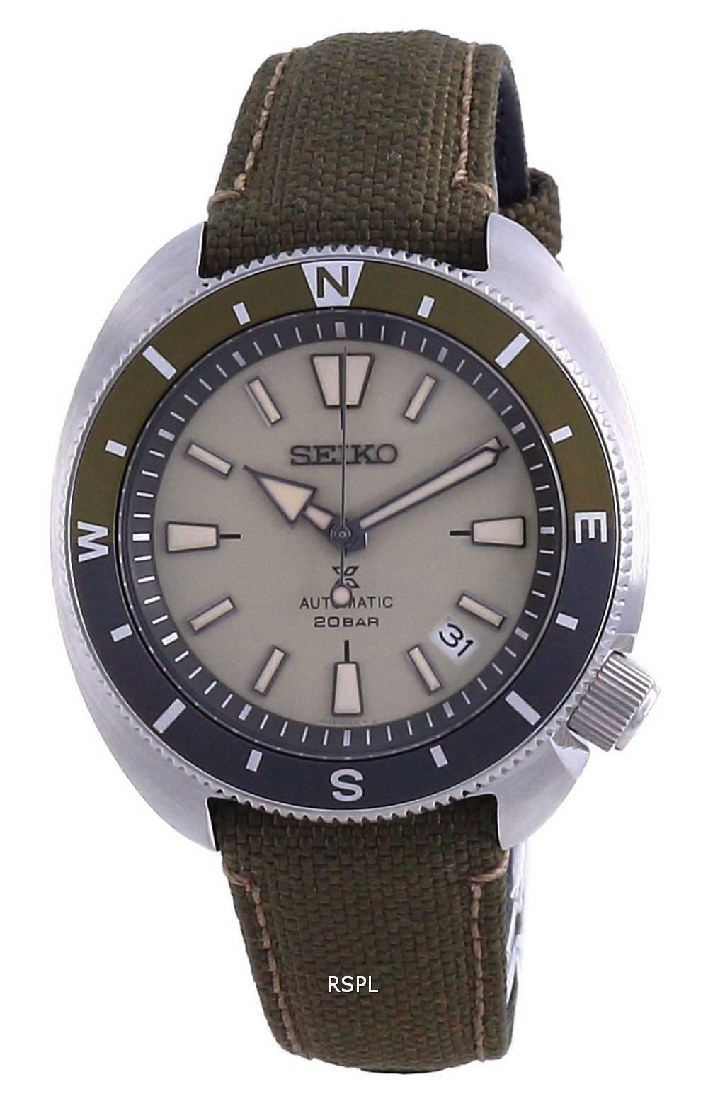 Seiko Prospex Land Tortoise Automatic Diver SRPG13 SRPG13K1 SRPG13K 200M miesten kello