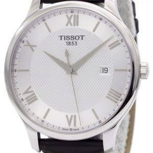 Tissot T-klassinen perinne T063.610.16.038.00 T0636101603800 Miesten kello