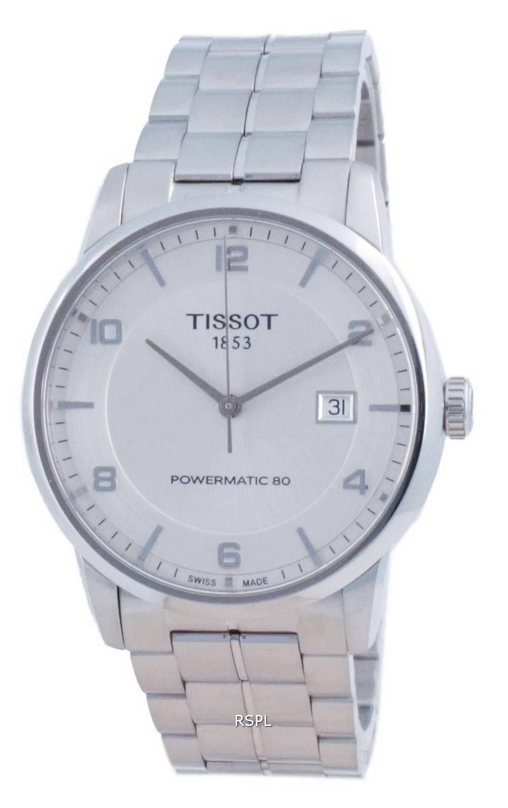 Tissot T-Classic Luxury Powermatic 80 automaattinen T086.407.11.037.00 T0864071103700 miesten kello
