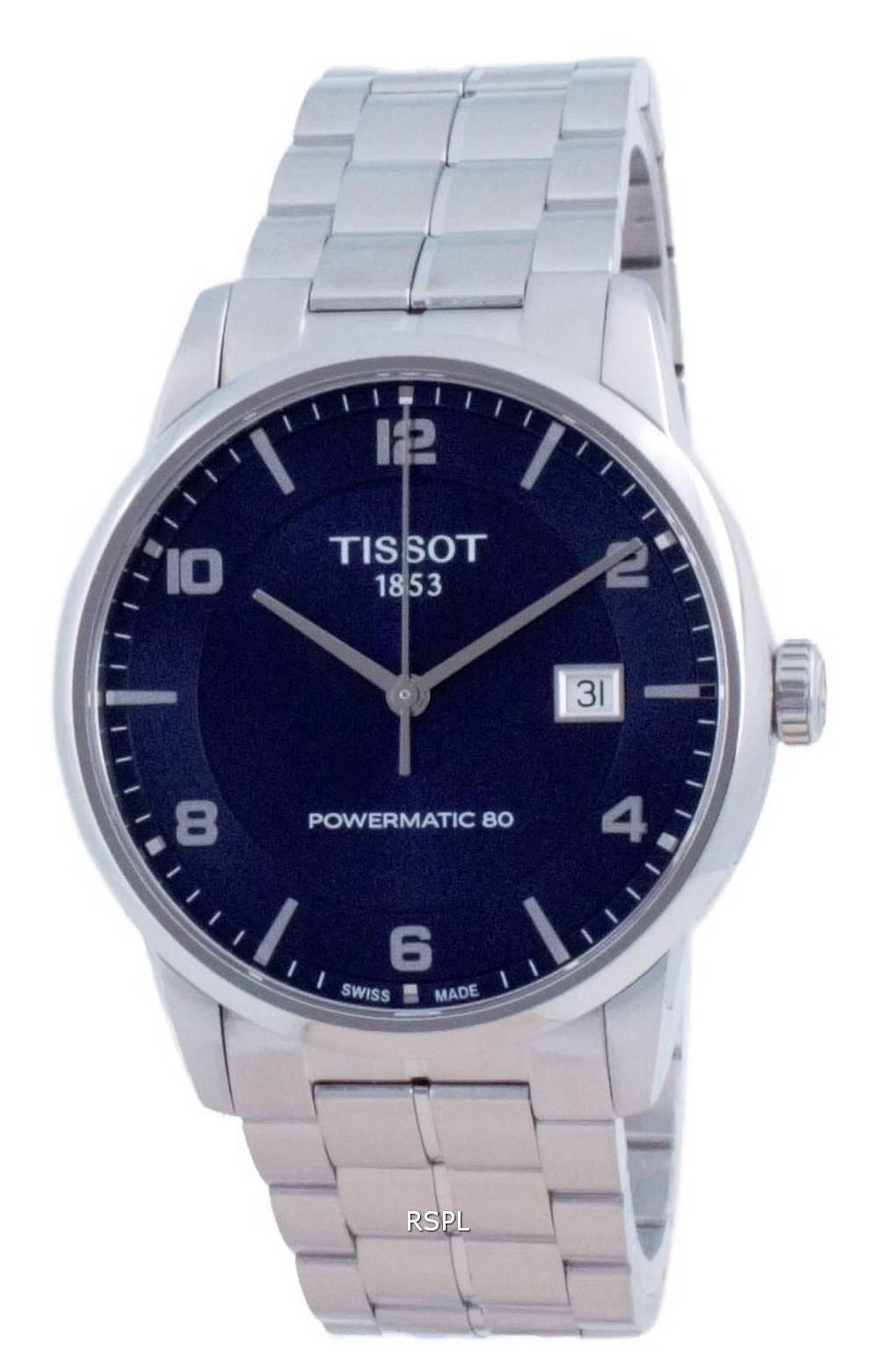 Tissot T-Classic Luxury Powermatic 80 automaattinen T086.407.11.047.00 T0864071104700 miesten kello