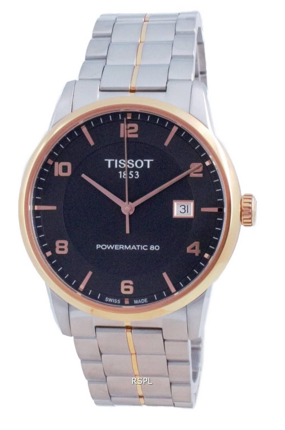 Tissot T-Classic Luxury Powermatic 80 automaattinen T086.407.22.067.00 T0864072206700 miesten kello