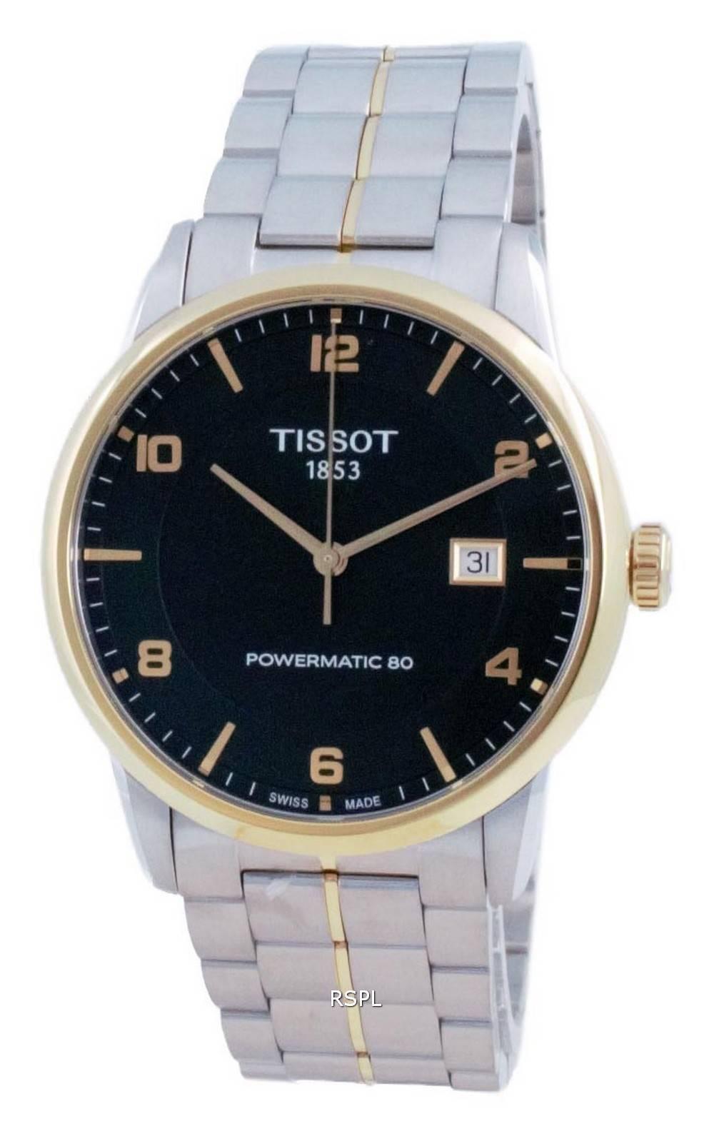 Tissot T-Classic Luxury Powermatic 80 automaattinen T086.407.22.097.00 T0864072209700 miesten kello