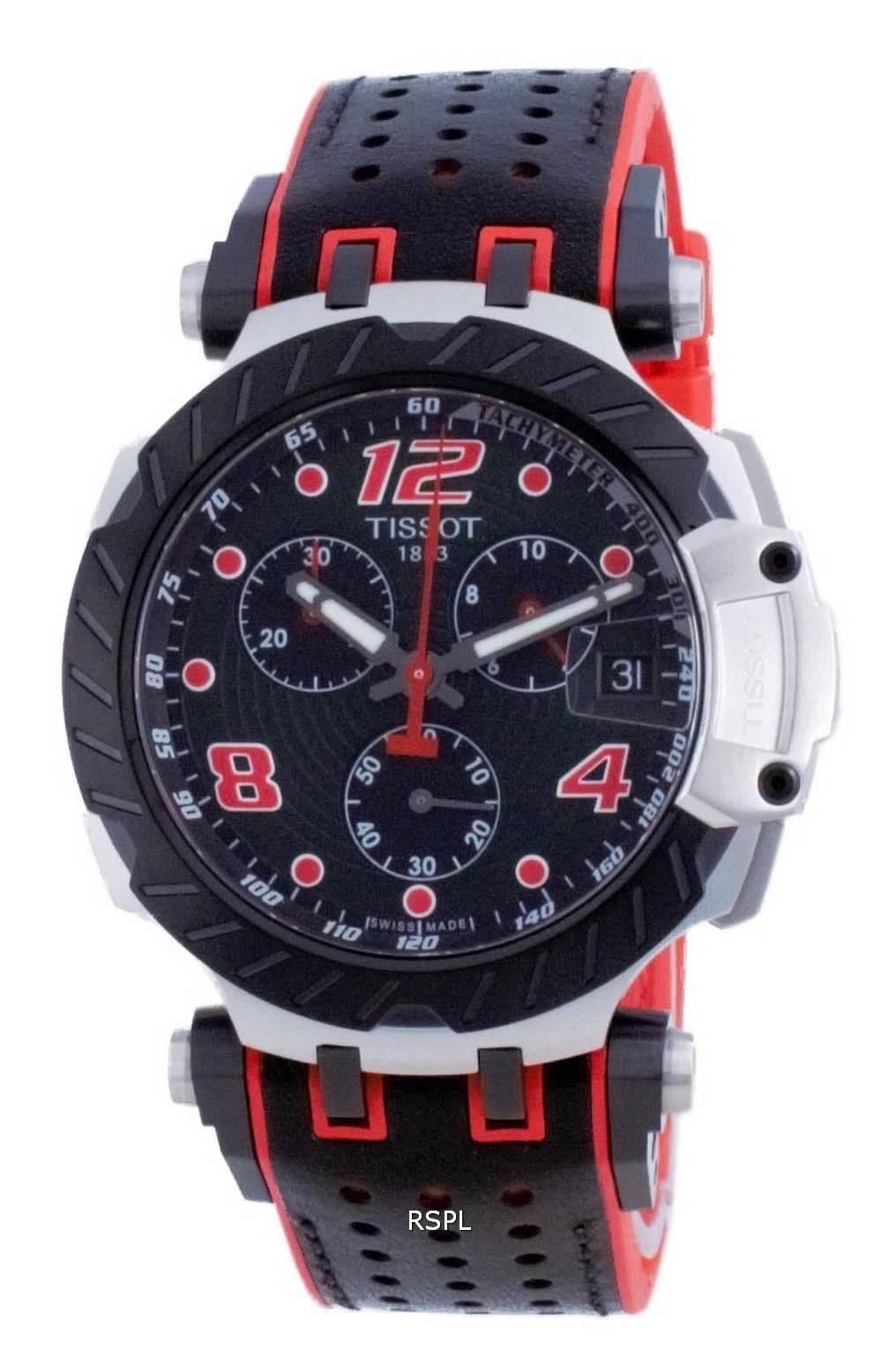 Tissot T-Race Chronograph Quartz T115.417.27.057.04 T1154172705704 100M miesten kello