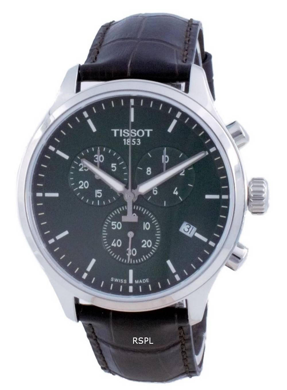 Tissot XL Classic Chronograph Quartz T116.617.16.091.00 T1166171609100 100M miesten kello