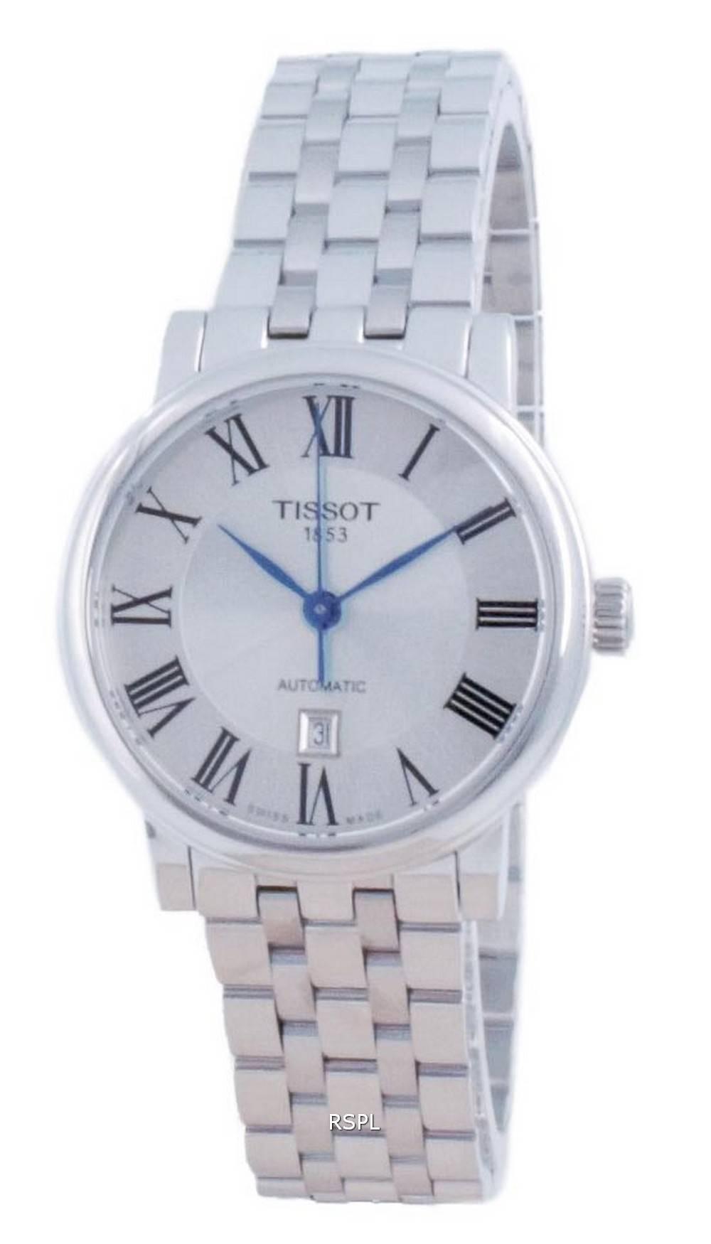 Tissot T-Classic Carson Premium automaattinen T122.207.11.033.00 T12220711033.00 naisten kello