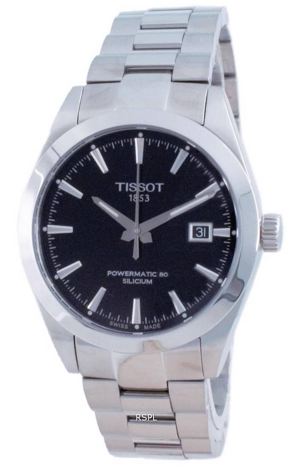 Tissot T-Classic Gentleman Powermatic 80 Silicium Automatic T127.407.11.051.00 T1274071105100 100M miesten kello