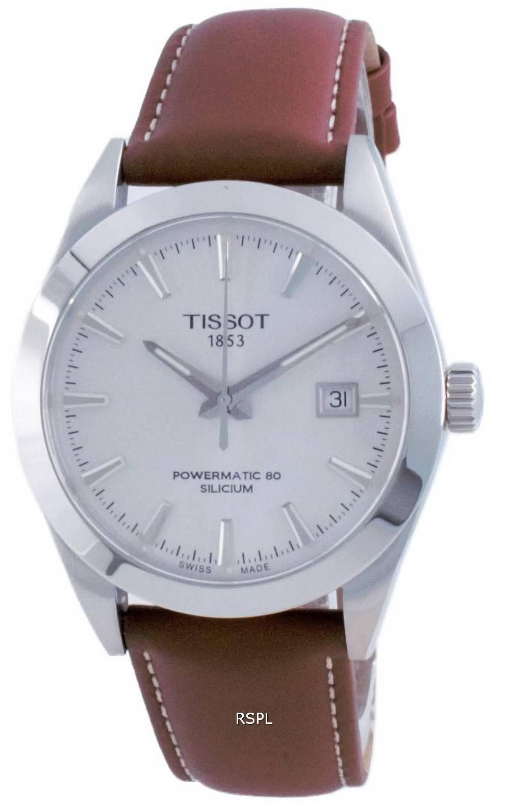 Tissot T-Classic Gentleman Powermatic 80 Silicium Automatic T127.407.16.031.00 T1274071603100 100M miesten kello
