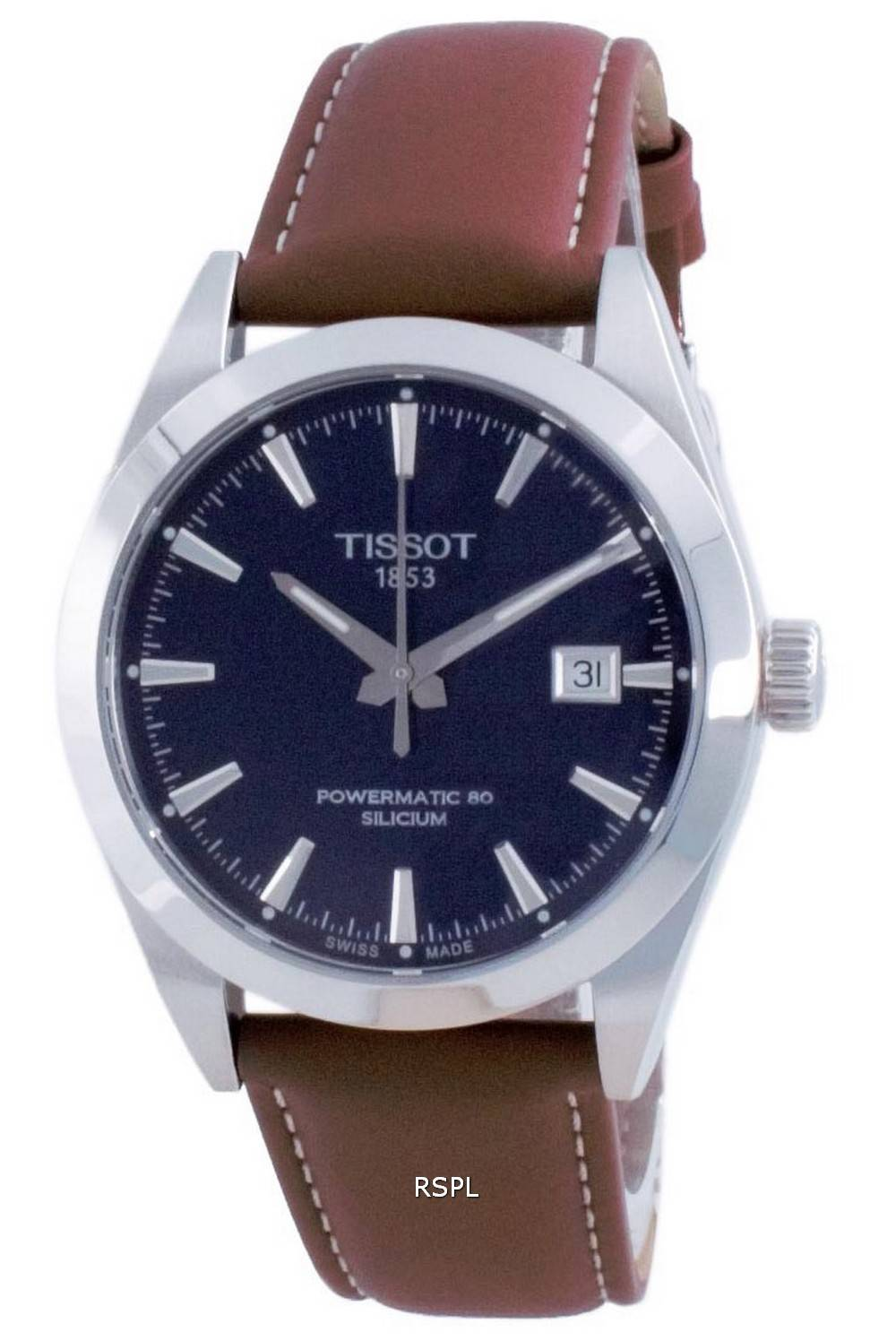 Tissot T-Classic Gentleman Powermatic 80 Silicium Automatic T127.407.16.041.00 T1274071604100 100M miesten kello