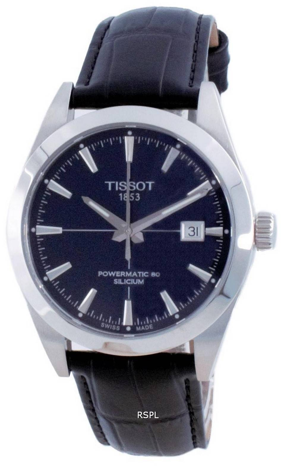 Tissot T-Classic Gentleman Powermatic 80 Silicium Automatic T127.407.16.041.01 T1274071604101 100M miesten kello
