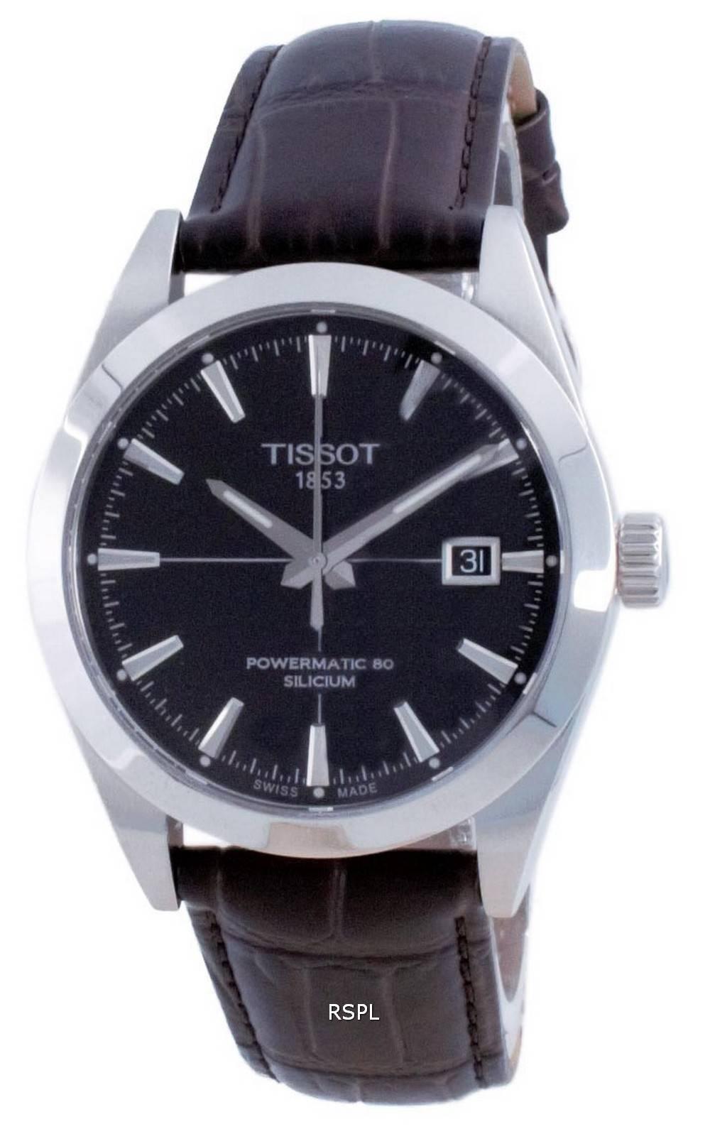 Tissot T-Classic Gentleman Powermatic 80 Silicium Automatic T127.407.16.051.01 T1274071605101 100M miesten kello