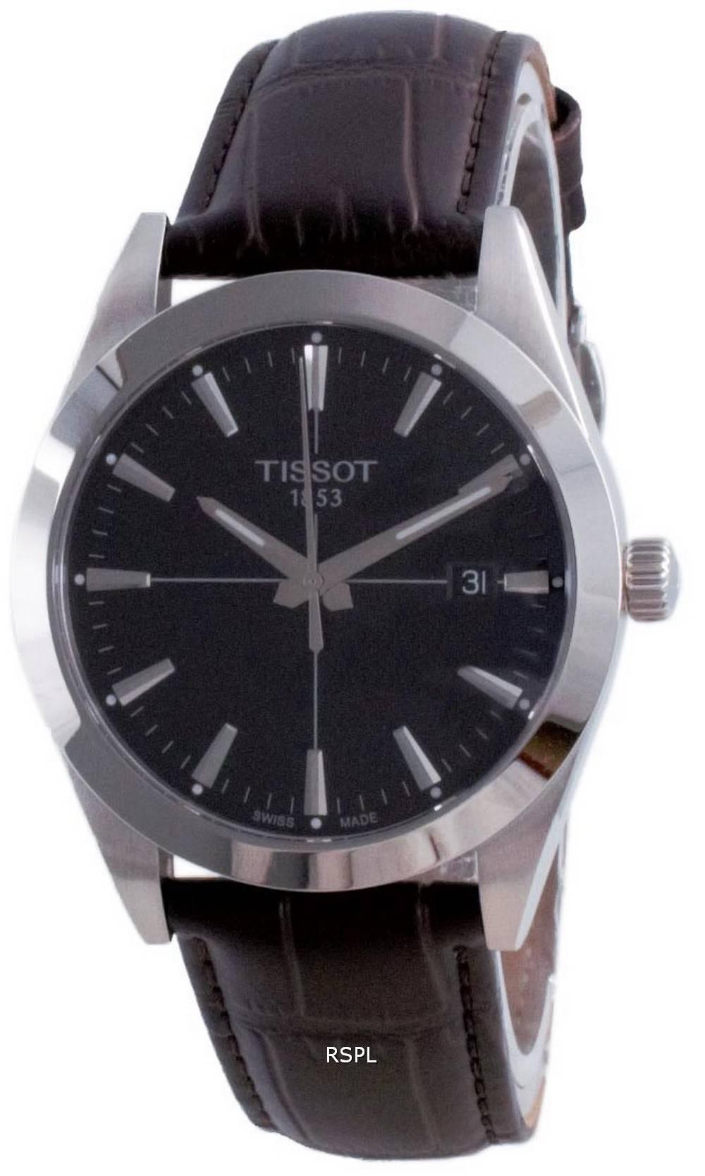 Tissot T-Classic Gentleman Quartz T127.410.16.051.01 T1274101605101 100M miesten kello