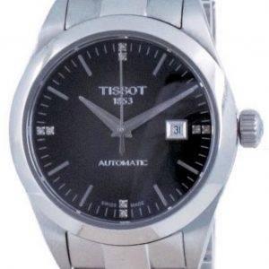 Tissot T-My Lady automaattinen timantti aksentti T132.007.11.066.00 T1320071106600 100M naisten kello