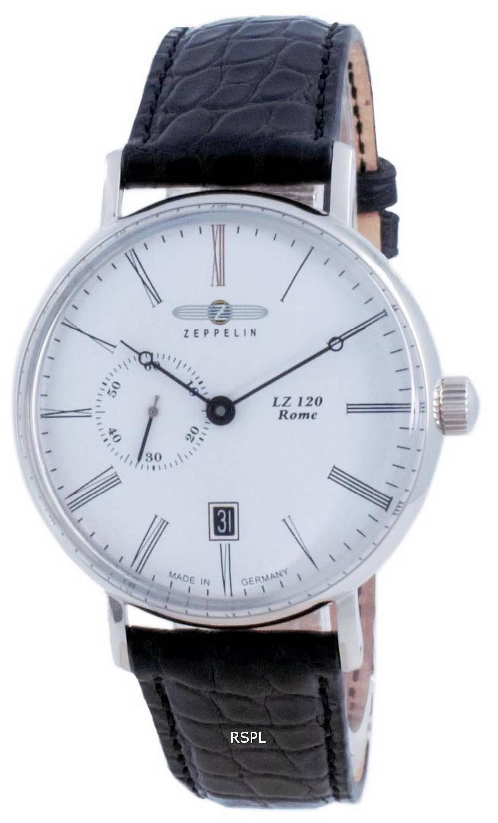 Zeppelin LZ120 Rome White Dial Automatic 7104-1 71041 miesten kello